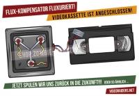 Flux-Kompensator - Aufkleber A6