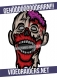 VideoRaiders Zombie - Aufkleber A6